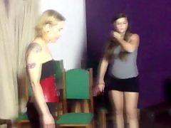 Faceslaping, Dominatrix, Brazilleño, Brazil, Faceslap