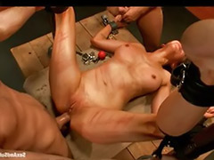 Threesome bondage, Princess donna, Destroys, Destroyer, Destroy anal, Destroy