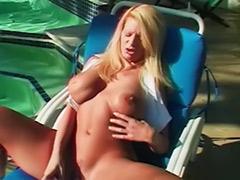 Stroke tits, Milf outdoor, Big tits stroke, Big tits milf solo