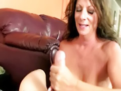 Two handjobs, Nasty milf