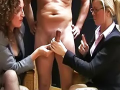 Pull, Office threesome, Lucky guy