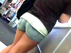 Voyeur teen, Teen jean, Jean shorts, Jean short shorts, Short, Jeans