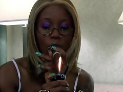 Teen smoking, Teen smoke, Teen black, Teen and black, Smoking ebony, Smoking teen