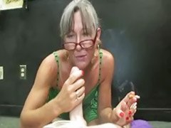 Smoking handjob, Smoking granny, Smoking cock, Handjob granny, Granni big cock, Granny smoking