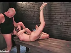 Waxed, Bound fuck, Bound anal, Bound blowjob