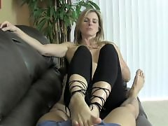 Stockings tease, Stocking tease, Sexy stocking, Sexy foot, Foot tease, Ballbustting