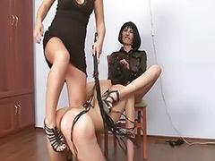 Threesome bondage, Russian slave, Russian femdom, Misstres, Femdom slave, Russian slaves