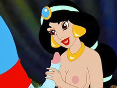 Jasmin sex cartoon, Jasmin sex, Genie