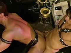 Bar sex, Sex bar, Drinking cum, Drink and swallow, Drink cum, Gay swallows cum