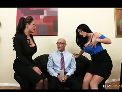 Two big, Threesome big boobs, Sins, Sharing, Shareing, Shared
