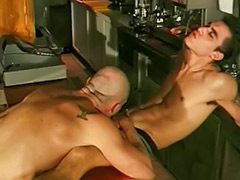 Bar sex, Sex bar, Muscled blowjob, Muscle-sex, Muscle anal, Gay black muscle