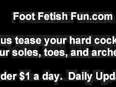 Masturbation, Foot