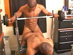 Ebony hard anal