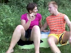Young sex, Young and milf, Teenage sex, Milf outdoor, Old and young sex, Enjoys