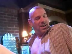 Bar sex, Two sex, Two foot, Two blowjob, Tits sex, Tits licking