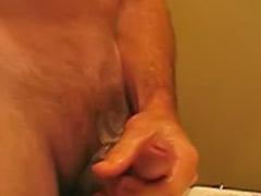 Story, Male wank cum