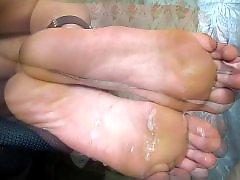 Sole, Footjobs, Foot soles, Amateur footjob