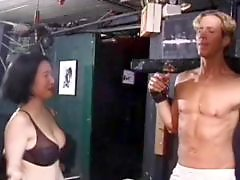 Whitee asian, White milf, White asian, White chick, Stud, Milf bondage