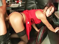Secretary fisted, Secretary masturbating, Secretary blowjob