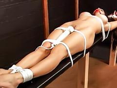 Tits bondage, Tit bondage, Stretching, Stretch, Justine, Justin