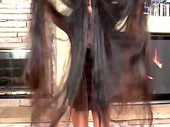 Длинноволосая, Волос