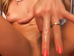 Riding cream, Hd riding, Hd solo, Hd masturbate, Hd blonde, Hd big tits