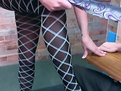 Teacher pantyhose, Stocking teacher, Stars, Starring, Seduction, Ballbustting