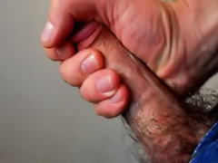 Taste cum, Solo male wanking, Solo male cum, Solo hairy, Masturbation hairy solo, Male wank cum