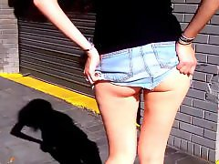 Upskirt ass, Too big, Wow, Streets, Street, Skirts