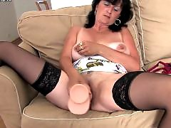 Tits granny, Tits granni, Tits dildo, Tit saggy, Playing with tits, Stockings dildo