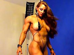 Redhead boobs, Redhead big boobs, Sexy boobs, Sexy boob, Muscled, Muscle babe