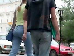 엉덩이도촬, 일반인 도촬, 산책