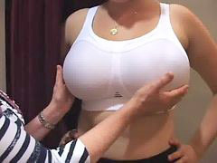 Big boobs, Groped
