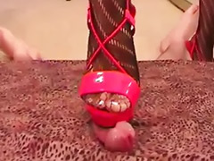 Trampling trample, Trample, Red footjob, Masturbate shoe, Femdom trampling, Femdom trample