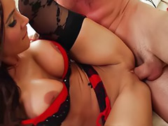 Titfuck cum, Lingerie blowjob, Hot girlfriend, Girlfriend blowjob, Big tits lingerie, Sandee westgate