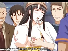 Tits train, In train, Hentai gangbang, Train masturbation, Train