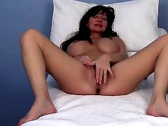 Milf orgasm, Leah, Look, Love boobs, Love big, Orgasm contraction