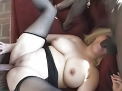 Stockings interracial anal blonde, Interracial anal stockings, Double penetration in stocking, Double chubby, Big tits getting banged, Ass lick group