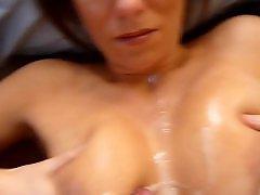 Öz anne, Tits handjob, Tits cumshots, Tits cumshot, Tit cumshots, Handjob, tits