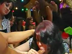 Party cfnm blowjob, Black party sex