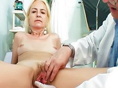 Doctor granny, Doctor mature, Granny fetish, Granny blonde, Blonde granny, Hirsute