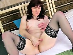 Tits mature, Tits granny, Tits granni, With moms, With mom, Stockings mom