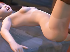 Doggy sex, Anime cock