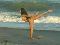 Yogas, Yoga, Public beach, Public nude, Nude public, Beach nude