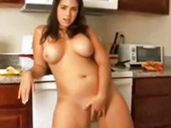 Solo girl nice ass, Ass kitchen, Chubby ass solo, Kitchen solo