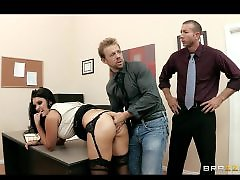 Two office, Two milfs, Milf office, Milf gangbang, Milf busty, Milf two