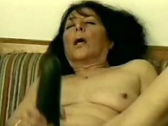 Grannie masturbate
