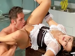 Maid cum, Maid blowjob, Maid anal, Latin maid, Anal maid, Lunch