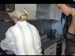Lesbian kitchen, Lesbian in kitchen, In kitchen, Kitchen, Kitchen mature, Kitchen lesbian