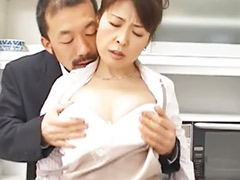 Hitomie, Asian mature stockings